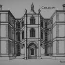 Chateau face de l'entree