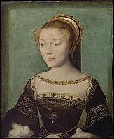 Anne de Pisseleu - Corneille de Lyon - 1