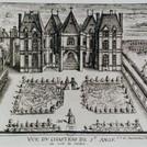Vue du Chateau de l'arriere sous Caumart