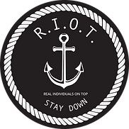 R.I.O.T anchor logo