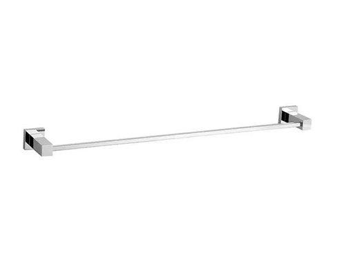 Porta Toalha Linear 45cm. Modelo Quadrado Com Dupla Fixação