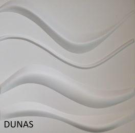 Revestimento Em 3d Pvc - Placa Decorativa 50x50 Dunas