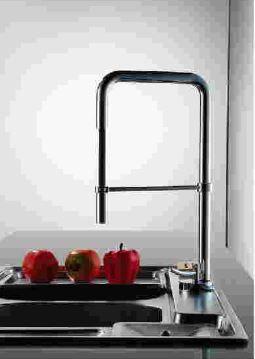 Torneira Monocomando Quadrada De Cozinha Luxo Kitp103