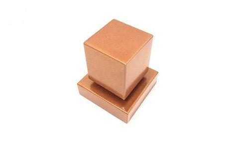 Acabamento Registro Quadrado 3/4 Padrão Deca Metal Rose Gold