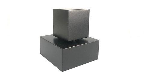 Acabamento Registro Quadrado 1.1/2 Padrão Deca Metal Preto