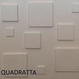 Revestimento Em 3d Pvc - Placa Decorativa 50x50 Quadratta