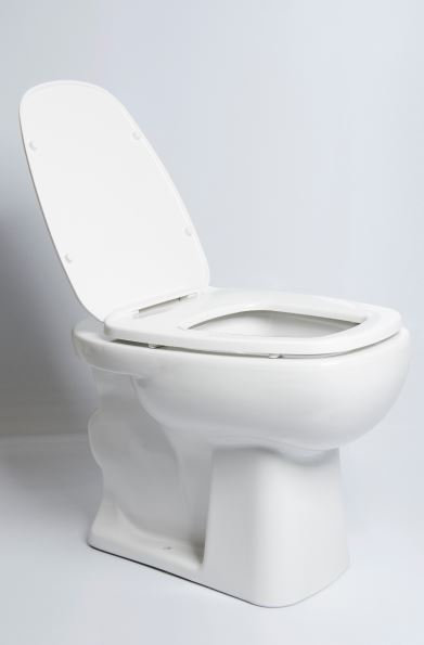 Bacia Convencional Louça Mônaco Quadrada Luxo Branca