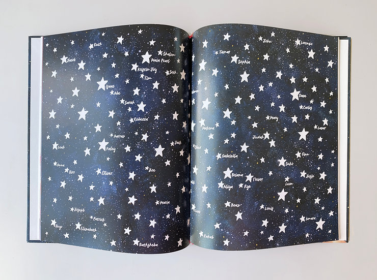 Name a star in - A Star for You -   book