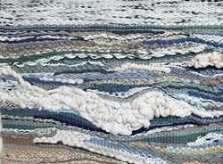Giant ocean weaving is done