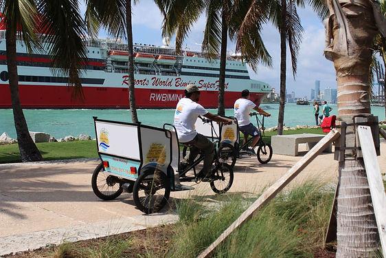 Sobe Rides Drivers on Miami Beach