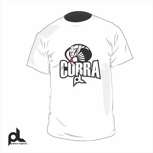Playera Adulto Blanca Cobra