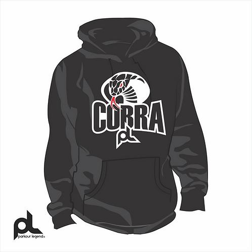 Sudadera Juvenil Negra Cobra