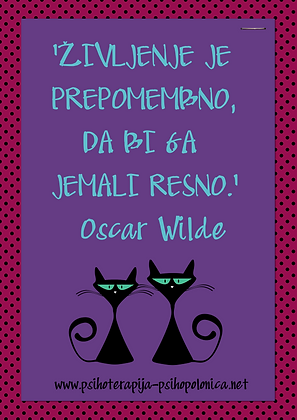 PsihoPolonica - citat - Oscar Wilde