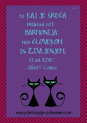PsihoPolonica - citat Albert Camus