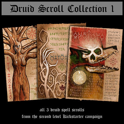 Druid Scroll Collection 1