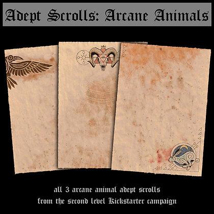 Adept Scrolls: Arcane Animals