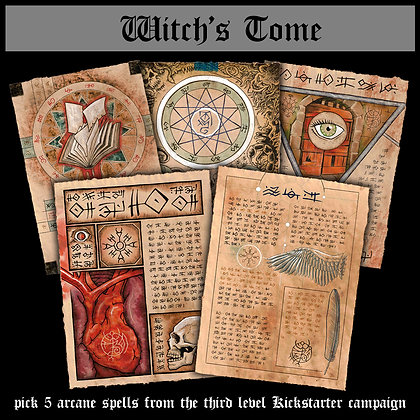 Witch's Tome (3rd Level)