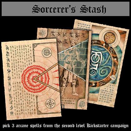 Sorcerer's Stash (2nd Level)