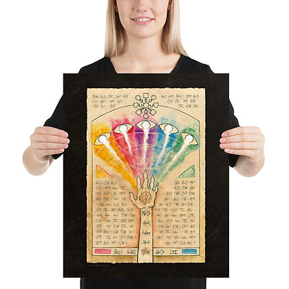 Color Spray Print