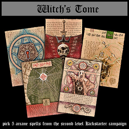 Witch's Tome (2nd Level)
