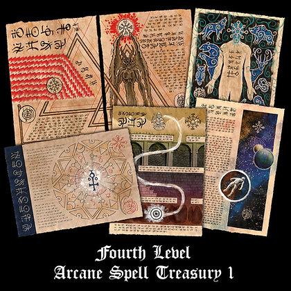 Fourth Level Arcane Scrolls: Spell Treasury I