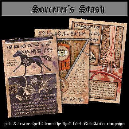 Sorcerer's Stash (3rd Level)