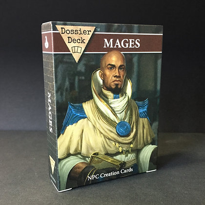Dossier Decks: Mages PDF
