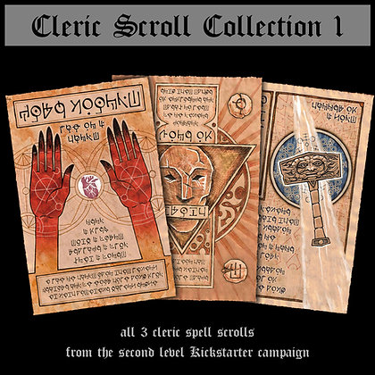 Cleric Scroll Collection 1