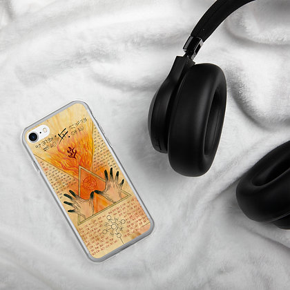 Burning Hands Phone Case