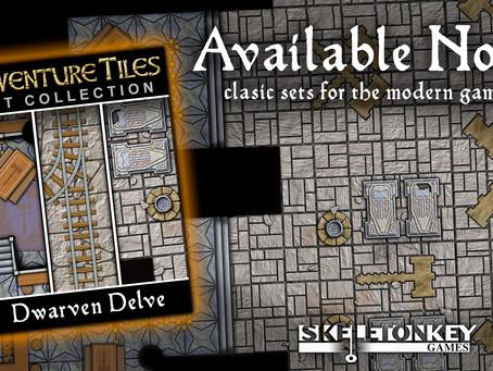 Adventure Tiles Available in VTT!
