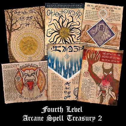 Fourth Level Arcane Scrolls: Spell Treasury 2