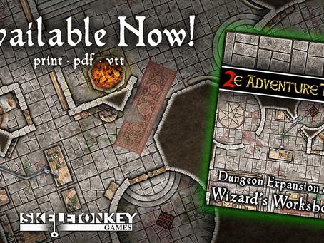 Wizard's Workshop: New Dungeon Expansion