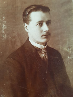 Young Swedish man from Jämtland in the early 20th century