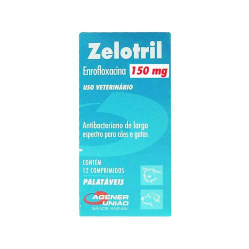 Zelotril Agener União 12 Comprimidos