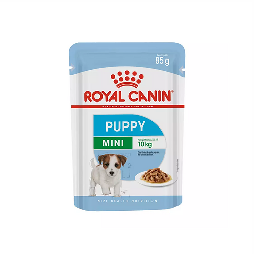 Ração Royal Canin Sachê Cães Mini Puppy