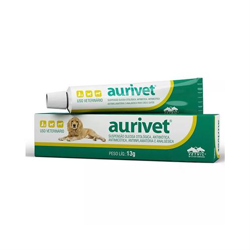 Suspensão Oleosa Otológica Aurivet Vetnil - 13 g