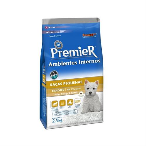Ração Premier Pet Ambientes Internos Cães Filhotes