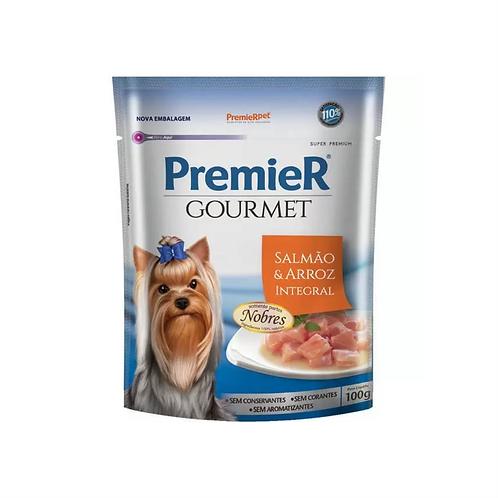 Premier Sachê Gourmet Salmão e Arroz Integral