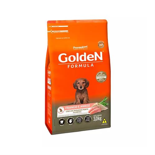 Ração Golden Fórmula Mini Bits para Cães Filhotes de Pequeno Porte Frango
