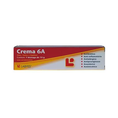 Pomada Dermatológica Crema 6A