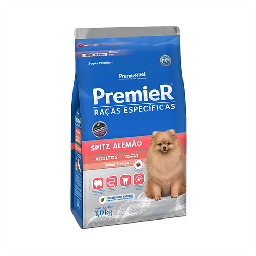 Ração Premier Pet Raças Específicas Spitz Alemão Adulto