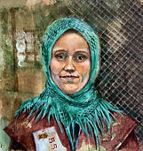 Ellis Island Immigrant painting