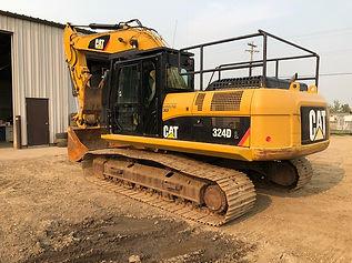2010 CAT 324D Hydraulic Excavator - Back