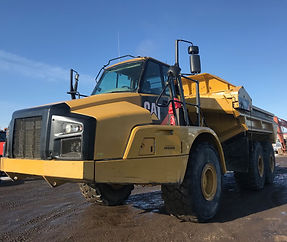 2012 CAT 740B EJ Articulated Rock Truck