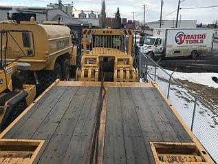 2008 CAT 730 6x6 Articulated Bed Truck w
