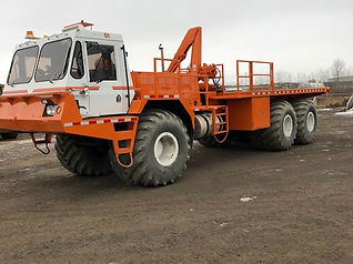 1999 Foremost Delta 3C Articulated Flat Deck Truck