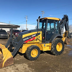 2015 John Deere 310SL HL Loader Backhoe