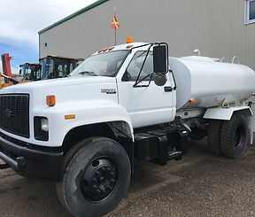 1996 GMC Kodiak Single Axle Water Truck
