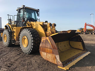 2013 CAT 980H Wheel Loader - Front Left.