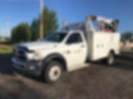 2012 Dodge 5500HD Crew Cab 4x4 Service T